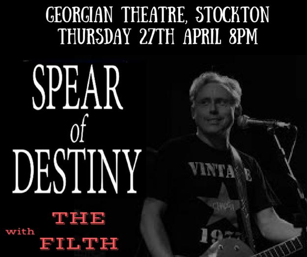 Thursday 27th April 8pm