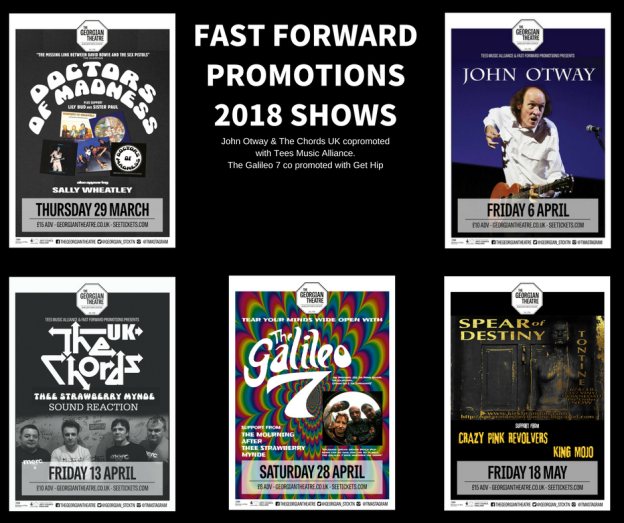 FAST FORWARD PROMOTIONS2018 SHOWS