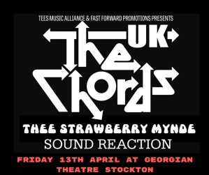 FRIDAY 1th APRIL at GEORGIAN THEATRE STOCKTON